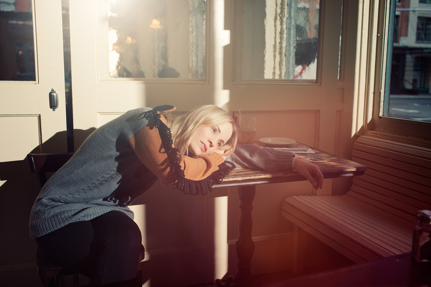 Annie at Home of the Vain; Pop-star and songwriter Annie, photographed for Sasha Frere-Jones's New Yorker column.